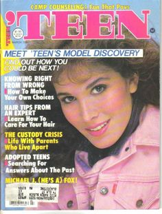 March 1984 cover with Nicole Harris