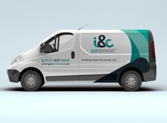 I_c-Gas-Vehicle-Logo-Design - logo design grp Gas Service, Service Logo, Vehicle Signage, Vehicle Branding, Logo Branding, Jaguar Suv, Van Signage, Kindergarten Coloring Pages, Bugatti Cars