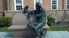 A Statue of Jim Henson and Kermit the Frog from The Muppets - The Muppet Show - Wikipedia, the free encyclopedia