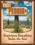 Out and About  Whether you're looking to take in the sights and sounds of the Sonoran Desert or you want to get in on the action with a little hiking, biking, horseback riding, paintball shooting and more, there's always something fun to see and do in and around Peoria. https://visitpeoriaaz.com/VisitHomepage.aspx?id=61975