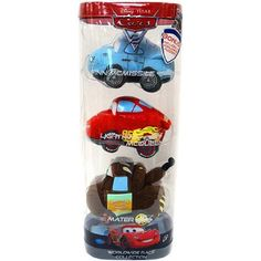 Disney  Pixar CARS 2 Movie Worldwide Race Collection Plush 3Pack Finn McQueen Mater ** You can get more details by clicking on the image.