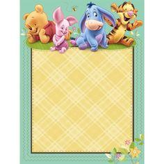 Invitaciones de Winnie The Pooh bebé para imprimir gratis - Imagui