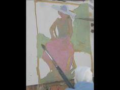 A fantastic demo by Peggi Kroll-Roberts!     Peggi Kroll-Roberts High Key Painting Demo