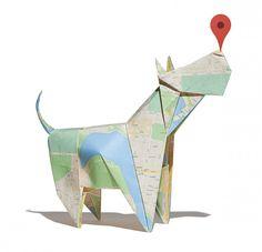 Google Maps Origami By Bakken Design » Design You Trust. Design, Culture & Society.
