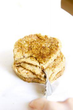 Skinny Apple Pie Pancakes by Skinny Girl Standard, a low calorie food blog