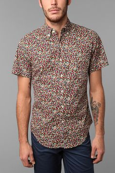 Shades Of Grey By Micah Cohen Short-Sleeve Shirt Online Only