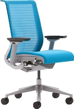 Think Chair by Steelcase, redesigned to meet environmental requirements but still maintains the same product performance!