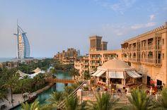 Madinat Jumeirah -  Exterior View via arabianescapes.com #Dubai #RealEstate #UAE