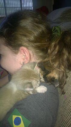 """Assim que gosto de dormir."" Million"