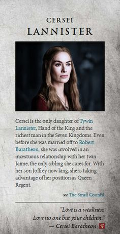 Game of Thrones images Cersei Lannister wallpaper and background photos