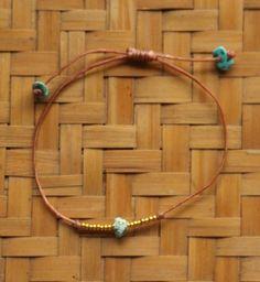 Indah Bracelet Dust & Gold Handmade Bracelets, Delicate, Beads, Pretty, Summer, Gold, Beading, Summer Time, Bead