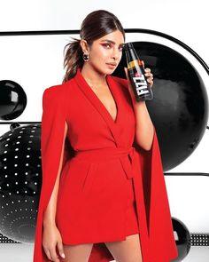 Alia Bhatt, Priyanka Chopra, Wrap Dress, Red, Instagram, Dresses, Fashion, Vestidos, Moda