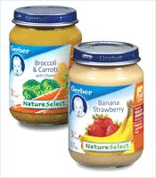 Gerber 3nd Foods Nature Selects