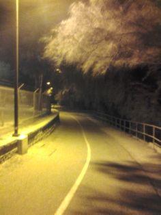 Walking at night