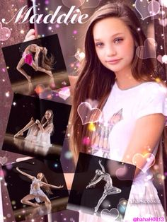 Edit of the beautiful Maddie Ziegler from Dance Moms. Credit to @hahaH0ll13