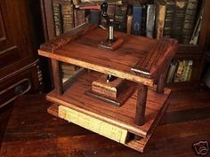 Hey, I found this really awesome Etsy listing at https://www.etsy.com/listing/57827778/sale-bookbinding-press-book-binding