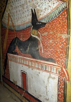 Ancient Egyptian Paintings, Ancient Egyptian Artifacts, Ancient Egypt History, Anubis, Ancient Civilizations, Egyptians, Fresco, Archaeology, Righteousness