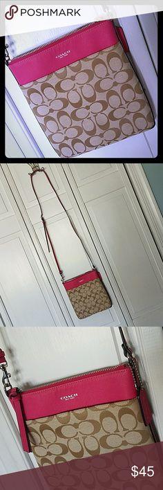 Coach bag Pink crossbody Coach Bags Crossbody Bags