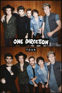 One Direction Four - Official Poster