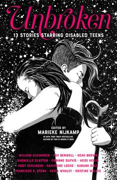 This collection of short fictional stories explores disability, written by authors who identify as disabled along a physical, mental, or neurodiverse axis. These tales span across many different genres and time periods, giving readers a glimpse into the lives of disabled people and their friendships, first loves, and travel adventures.
