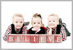 """Could use our """"believe"""" sign and have Evie reading The Polar Express"""