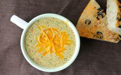 Broccoli Cheese Soup: Panera Bread Copycat Recipe