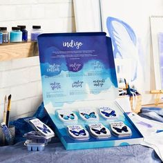 Indigo fragrances are now available! Limited Edition. 6 Fragrances, Many moods, one inspiring color.  Whether you're feeling bold, daring, serene, mysterious, or any mood in between, discover a completely new multi-sensory experience at https://momsathome.scentsy.us/Buy/Category/3376