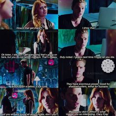 "#Shadowhunters 1x01 ""The Mortal Cup"" - Clary and Jace"