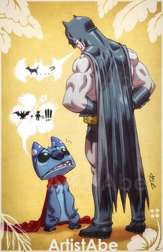 batman-meets-stitch-in-close-encounters-of-the-bat-kind