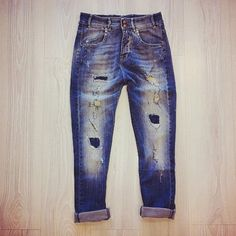 Jeans strappato jcolor - Lab 25 - Wear yourself