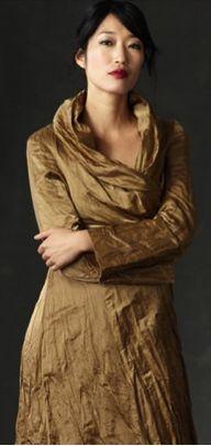 Eileen Fisher Steel Coat