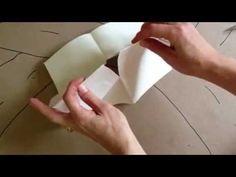 Hogyan készíts egy pici jegyzetfüzetet 1 darab A/4-es papírból.