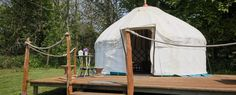 Albion Farm. Available, cheap, only one yurt. See on AirBnB.