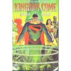 DC Comics Superman Kingdom Come Paperback New Written by Mark Waid Art and cover by Alex Ross Eisner Award-winning artist Alex Ross provides an amazing new cover painting for this new edition of KINGDOM COME which features a deluxe foldout cover  http://www.MightGet.com/january-2017-13/dc-comics-superman-kingdom-come-paperback-new.asp
