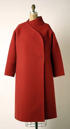 Madame Grès (Alix Barton) | Coat | French | The Met