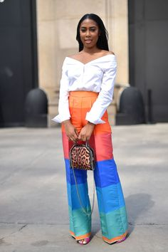 New York Fashion Week street style / Street Style / ВТОРАЯ УЛИЦА New York Fashion Week Street Style, Cool Street Fashion, Look Fashion, Summer Brunch Outfit, Dress Summer, Modest Fashion, Fashion Outfits, Womens Fashion, New Yorker Mode