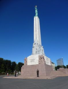 Freedom Monument Riga Latvia