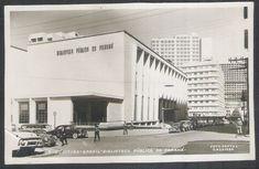 foto postal colombo antiga 9 curitiba biblioteca pública