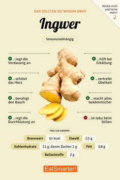 should know this about ginger! You should know this about ginger! You Should Know About Ginger Tomato Nutrition, Health And Nutrition, Holistic Nutrition, Nutrition Guide, Complete Nutrition, Broccoli Nutrition, Nutrition Tracker, Proper Nutrition, Eating Clean