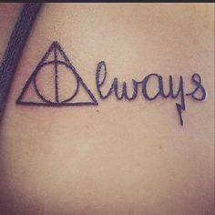 So for years I've thought about getting a tattoo. But there was never one that meant enough to me to get. I wanted something meaningful and something I'd never regret. Last year, I started reading Harry Potter in a very dark time in my life. As weird as it sounds, the books saved my life. They gave me something to look forward to and made me see magic in the world again. In the books, if you haven't read them, there is a character named Snape. He teeters between being good and bad but…
