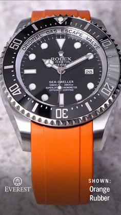 c639edba2ef Everest Bands are available for the Rolex DeepSea - Lighten up your wrist  and create a