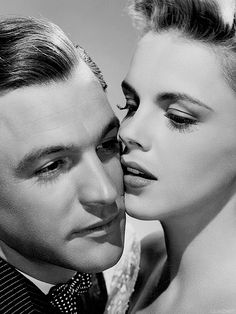 Gene Kelly and Judy Garland in a promotional photo for 'For Me And My Gal', 1942