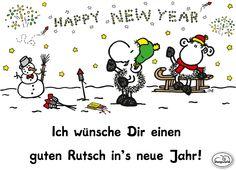 Einen guten Rutsch in's neue Jahr!