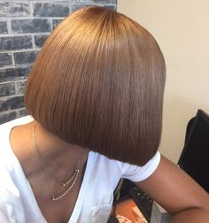20 popular bob hairstyles for black woman – My hair and beauty Retro Hairstyles, Black Women Hairstyles, Bun Hairstyles, Bob Haircuts For Women, Long Bob Haircuts, Medium Hair Styles, Short Hair Styles, Bob Styles, Shaved Bob