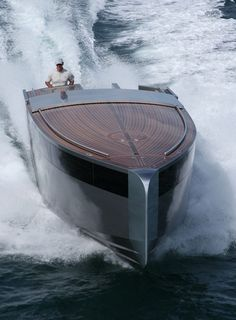 Wow! Now that's a boat! :)