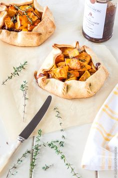 Caramelized Onion and Butternut Pumpkin Crostata