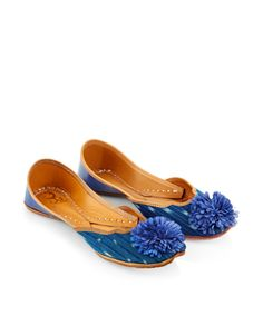 Pom Pom Indian Ballerina Shoe