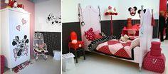 #Disney at Home - Disney Kinderkamer Meubels & Decoratie met Mickey & Minnie Mouse Accessoires voor de Kinder Slaapkamer op de Ariadne at Home Woonbeurs Huis (Foto DroomHome.nl)