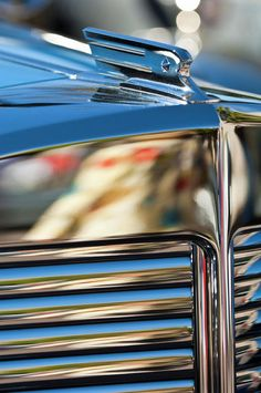 1931 Marmon Sixteen Coupe Hood Ornament Photograph by Jill Reger