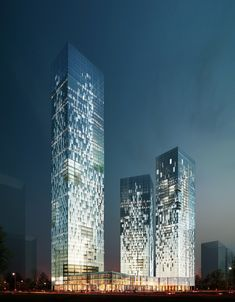 Towers SD_Plots + on Behance Tower Building, High Rise Building, Building Facade, Building Structure, Building Design, Futuristic Architecture, Facade Architecture, Amazing Architecture, Modern Skyscrapers